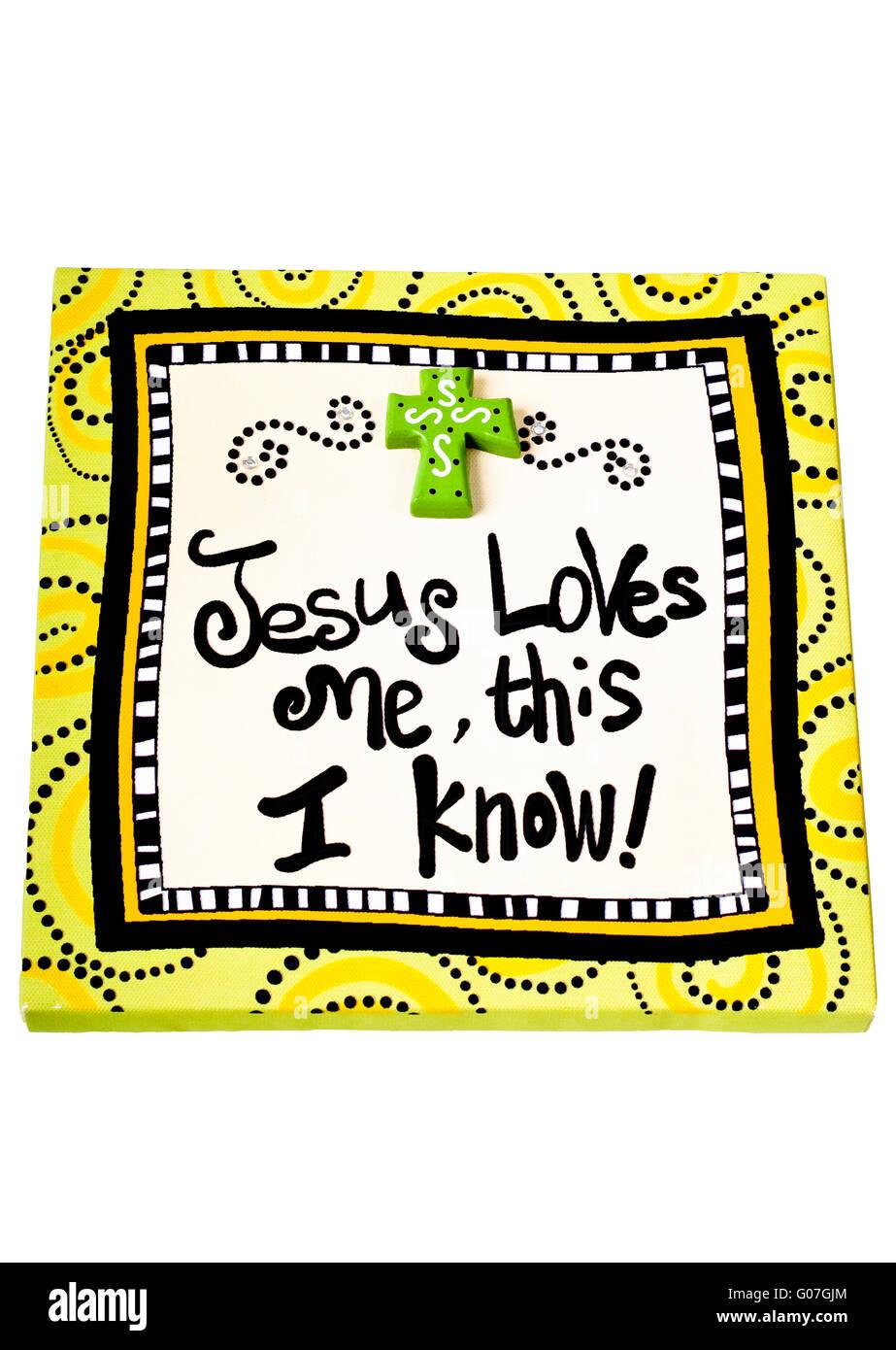 Niedlich Jesus Christus Liebt Mich Färbung Seite Galerie - Entry ...