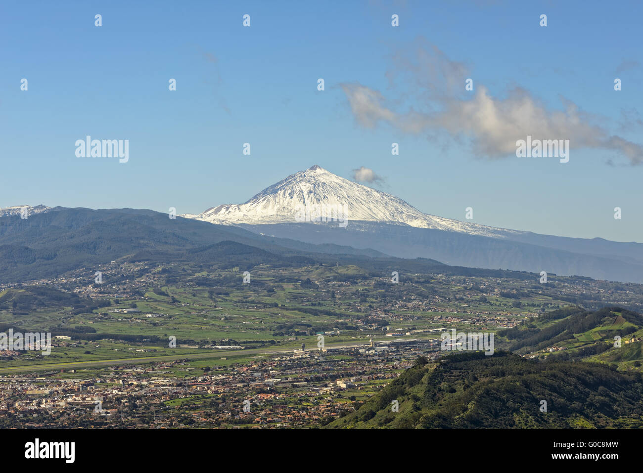 Vulkan Teide - Teneriffa Stockbild