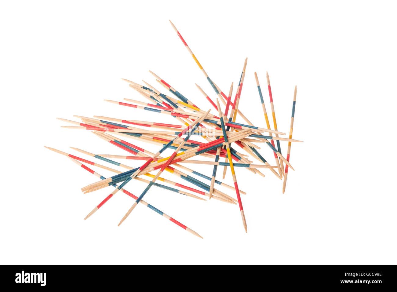 Flink Gefingert Stockfotos Bilder Alamy Wiring Diagram Es Gibt Viele Mikado Auf Einem Weien Hintergrund Angeordnet Stockbild