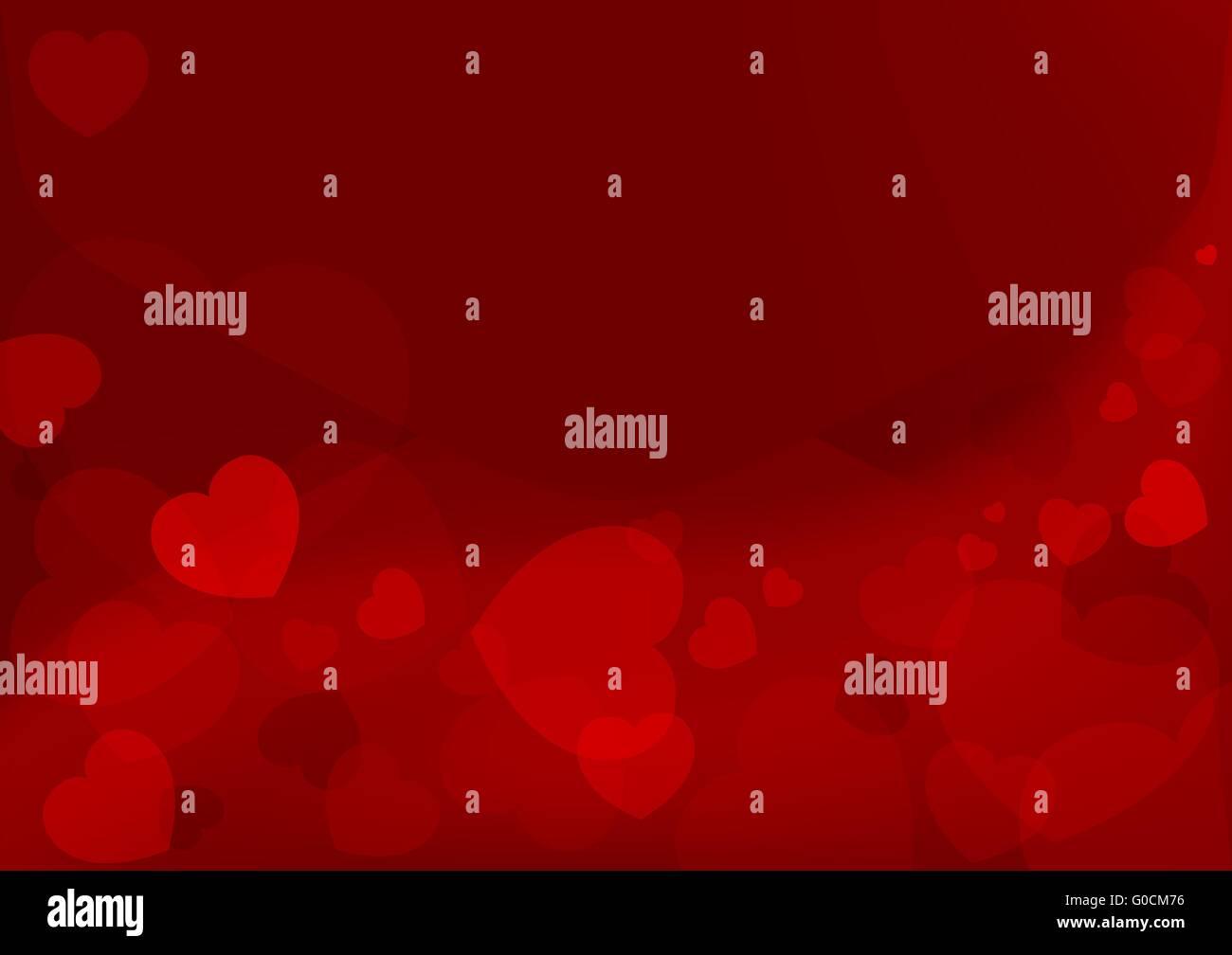 Valentinstag-Hintergründe Stockbild