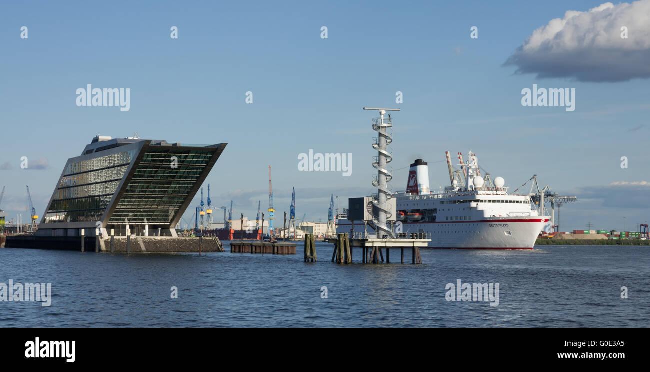 Hamburg cruise Stockbild