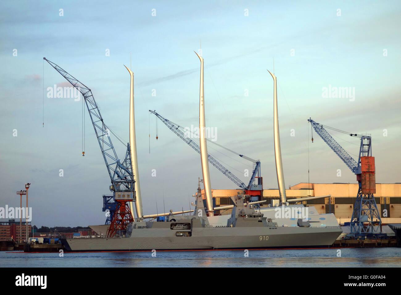 Das Größte Segelschiff Der Welt Weiße Perle Stockfoto Bild
