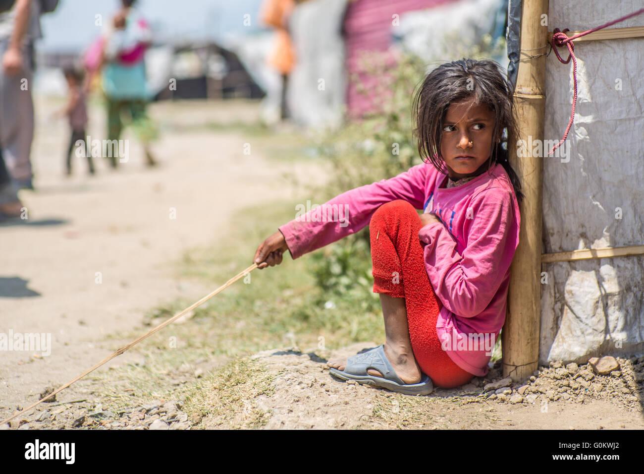 Obdachlos Mit Kind