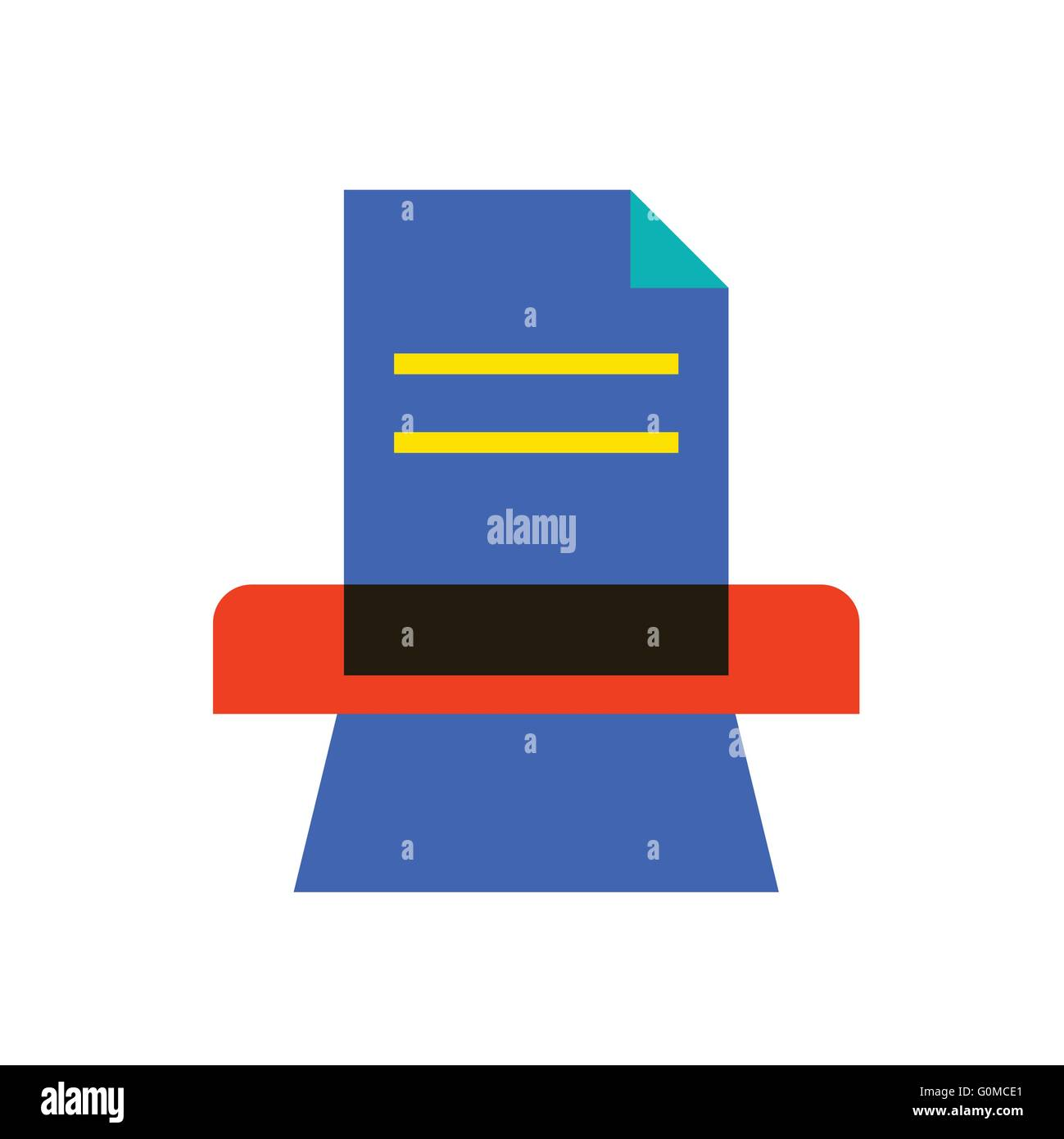 Candy-Symbol II Stockbild