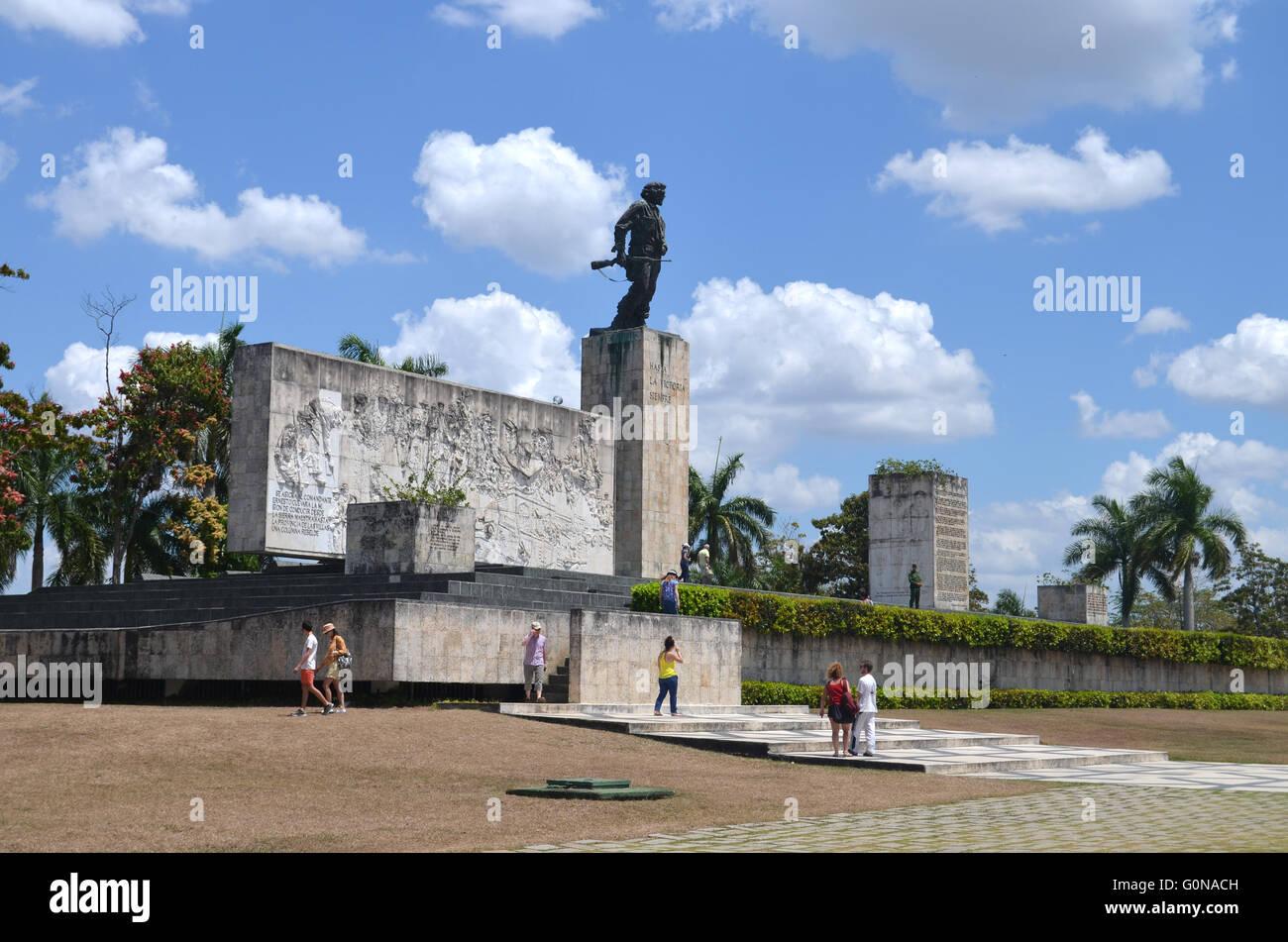 Complejo monumentale Ernesto Che Guevara, letzte Ruhestätte von Che Guevara, Santa Clara Kuba 2016 Stockbild