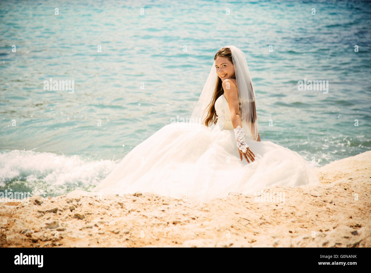 Wedding Dress Train Stockfotos & Wedding Dress Train Bilder - Alamy