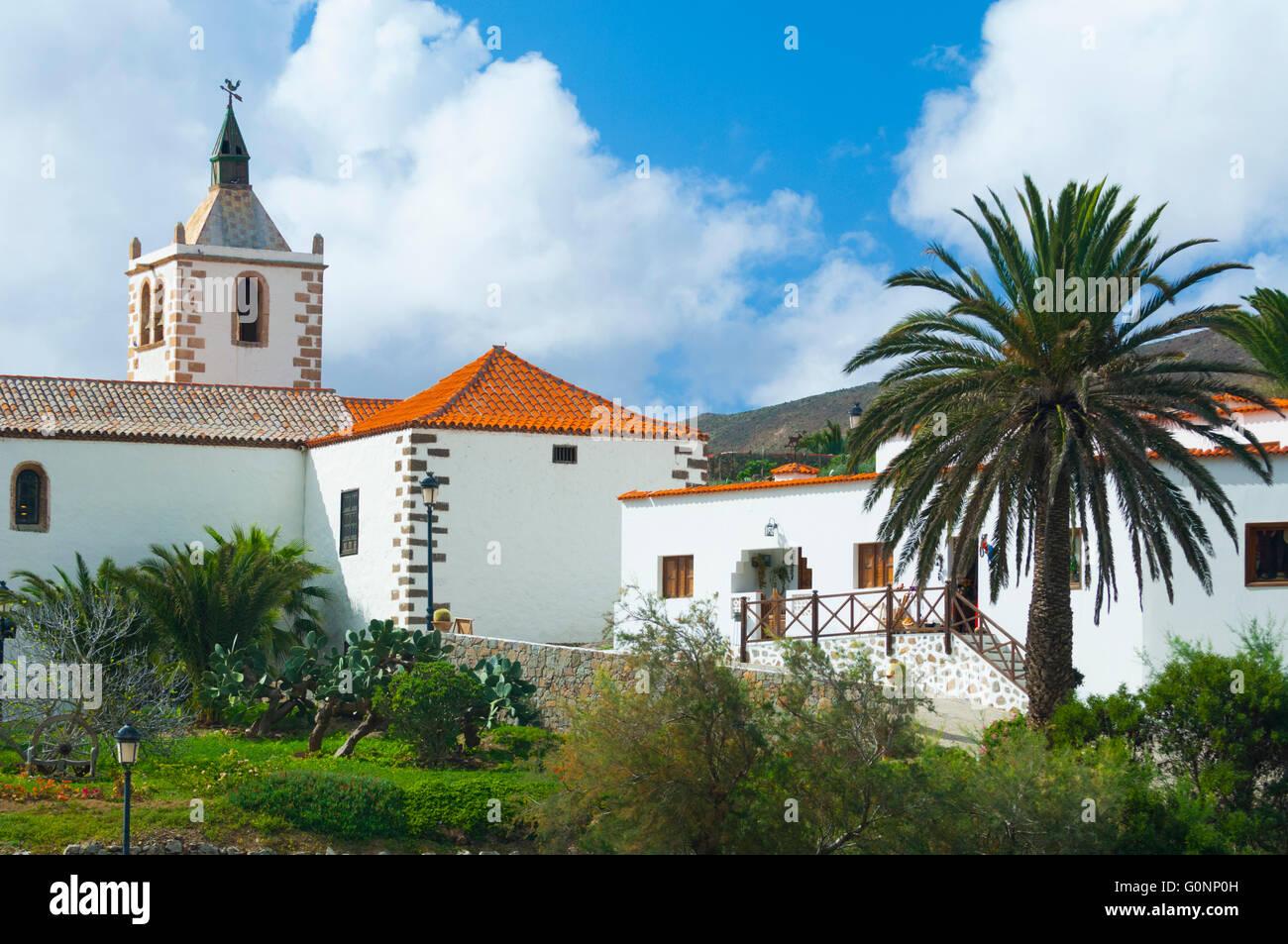 Espagne, Iles Kanarischen Inseln, Fuerteventura, Dorf de Betancuria / / Spanien, Kanarische Inseln, Fuerteventura, Stockfoto