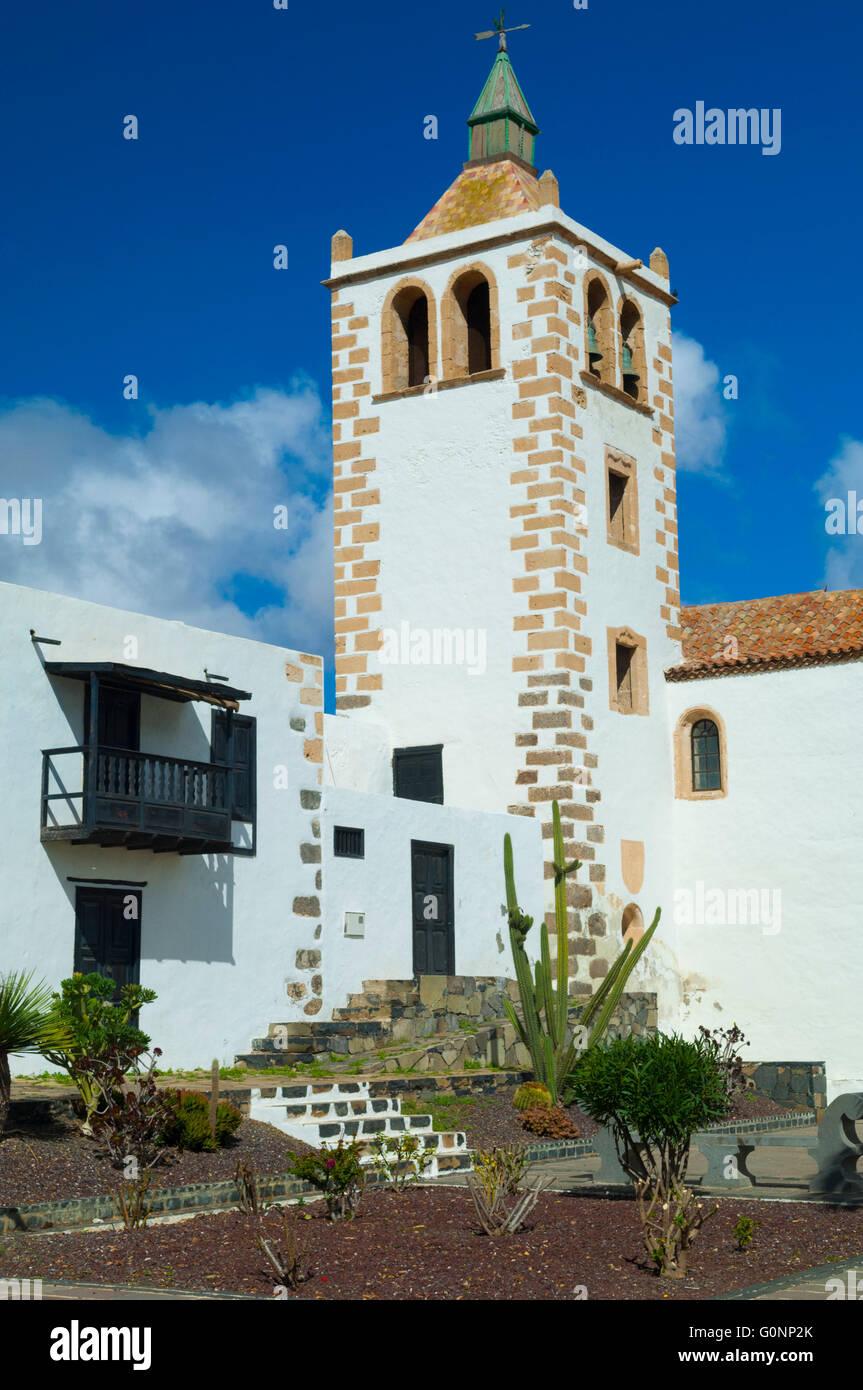 Espagne, Iles Kanarischen Inseln, Fuerteventura, Dorf de Betancuria, Eglise Santa Maria / / Betanc, Fuerteventura, Stockfoto