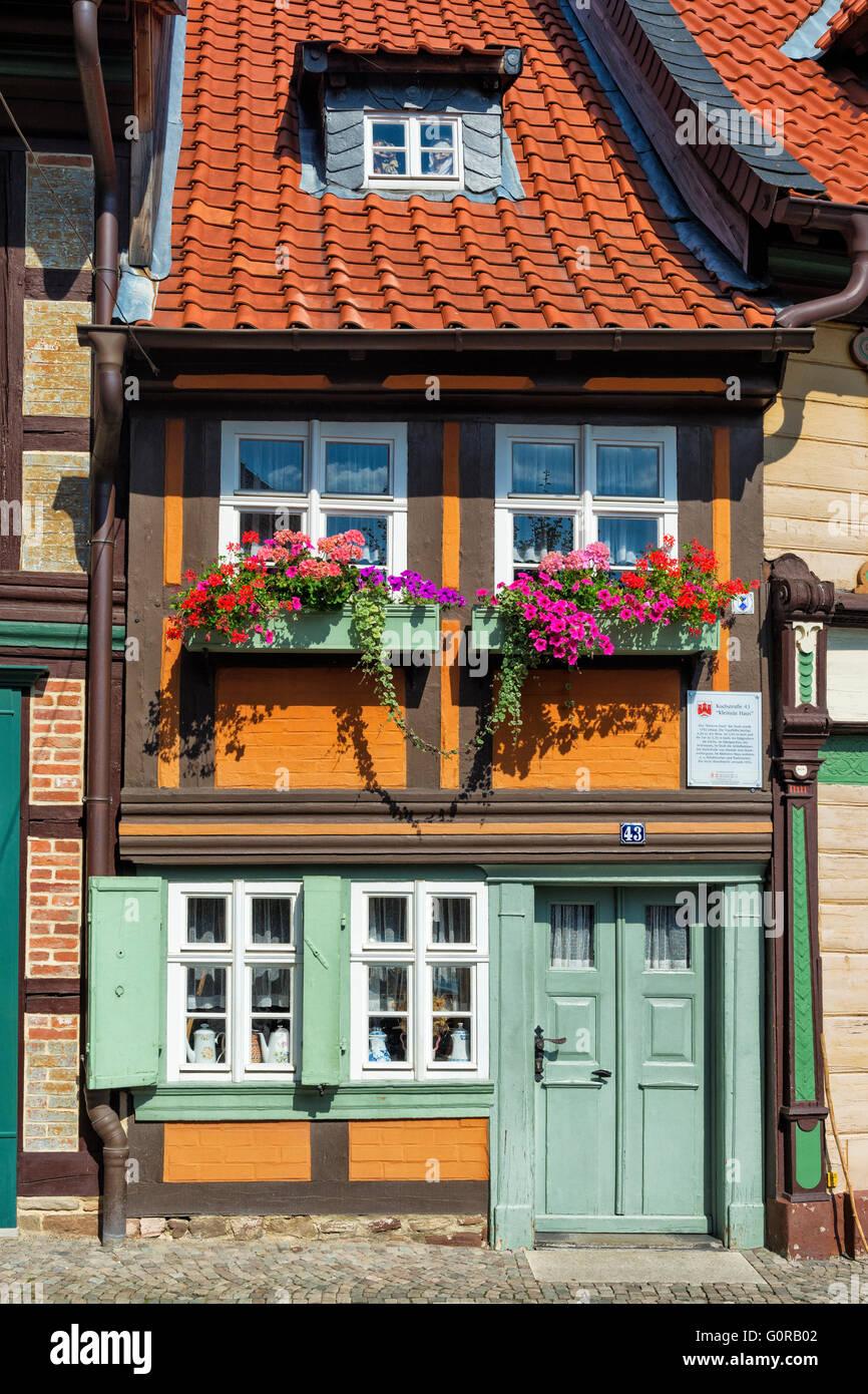 Das kleinste Haus der Stadt gebaut im Jahre 1792
