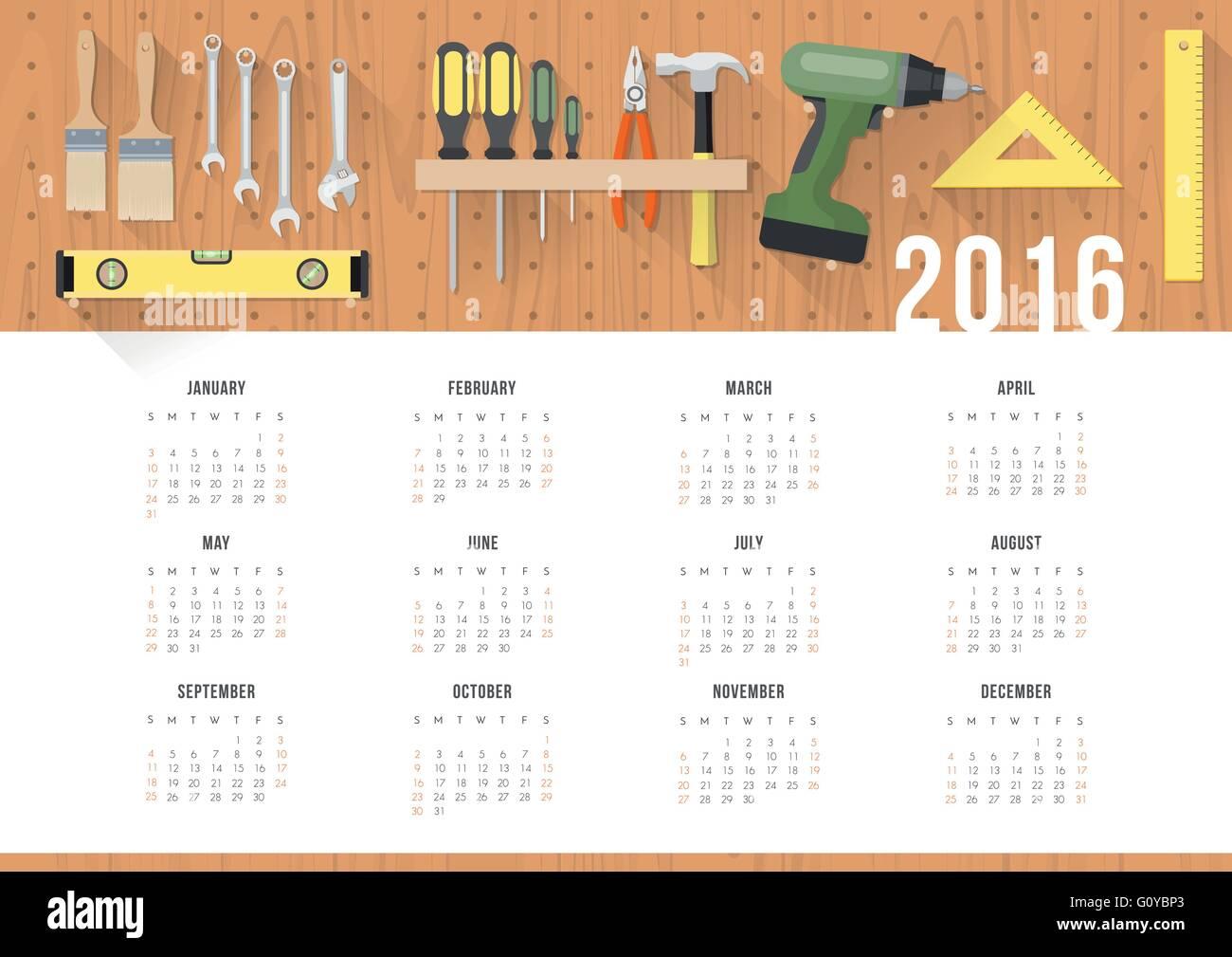 Calendar Hanging Stockfotos & Calendar Hanging Bilder - Alamy
