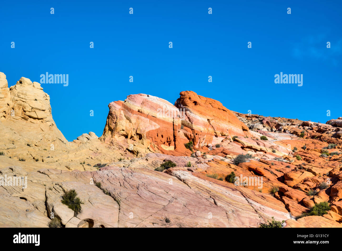 a8b9b9443c1c Gestreifter Rock, Rock-Formation. Valley of Fire State Park, Nevada ...