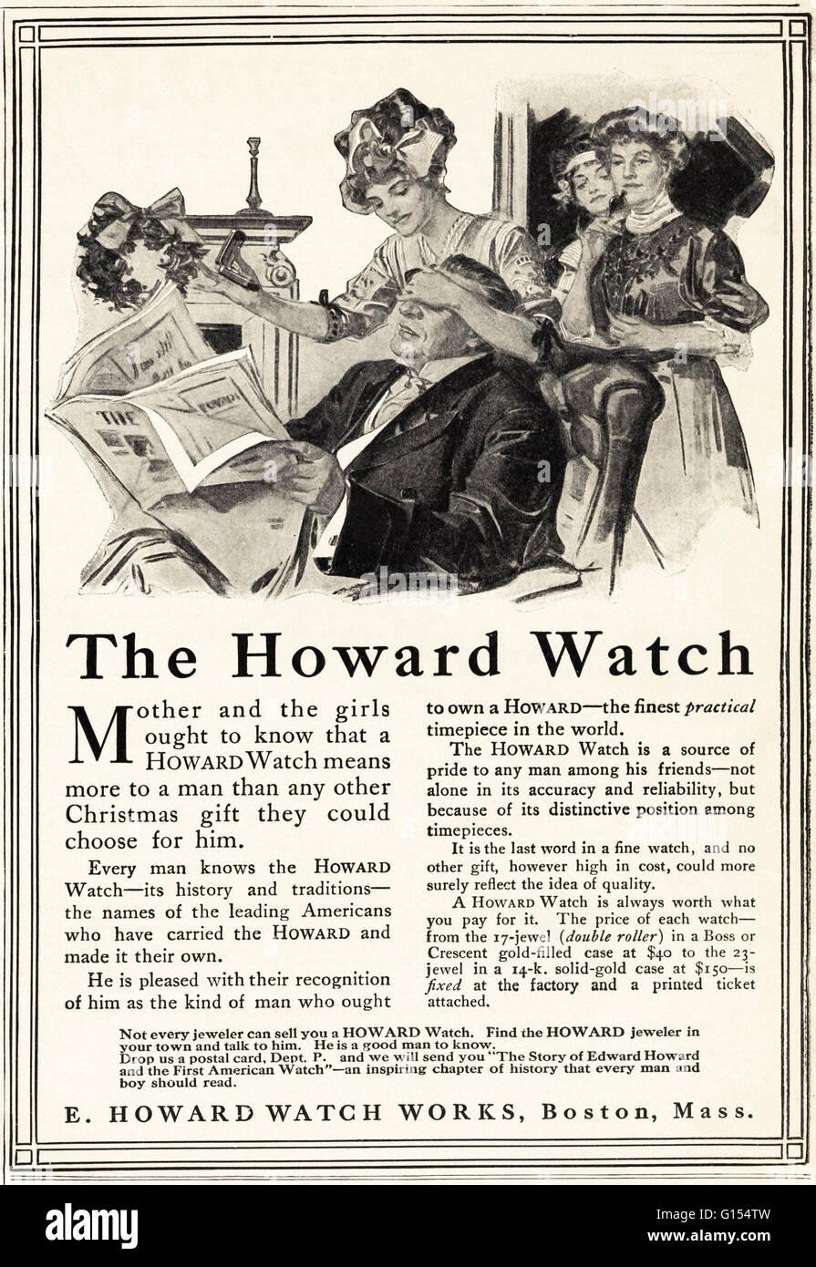original alte vintage american magazin anzeige aus der edwardian ra datiert 1910 werbung. Black Bedroom Furniture Sets. Home Design Ideas