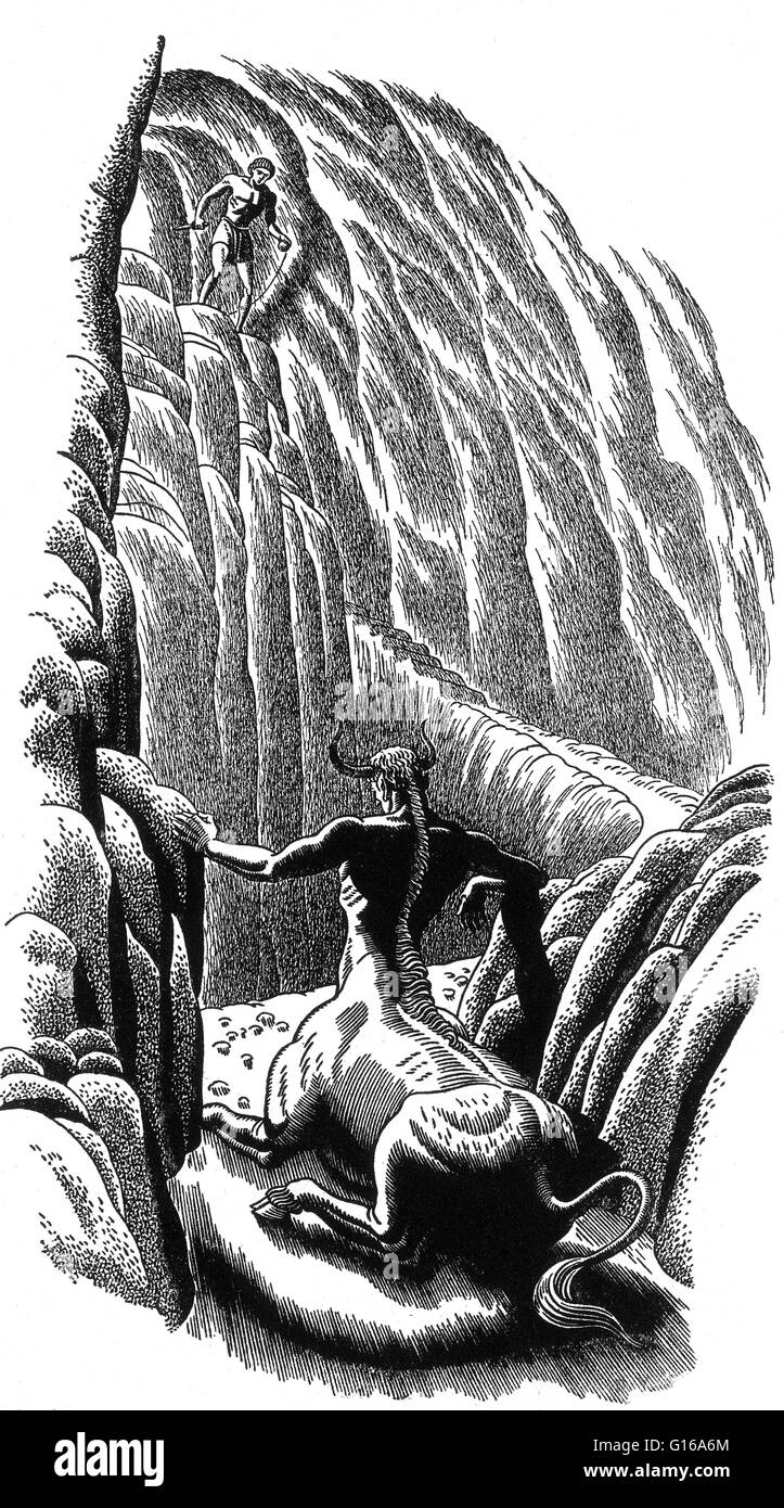 In Der Griechischen Mythologie War Der Minotaurus Ein Geschöpf Mit