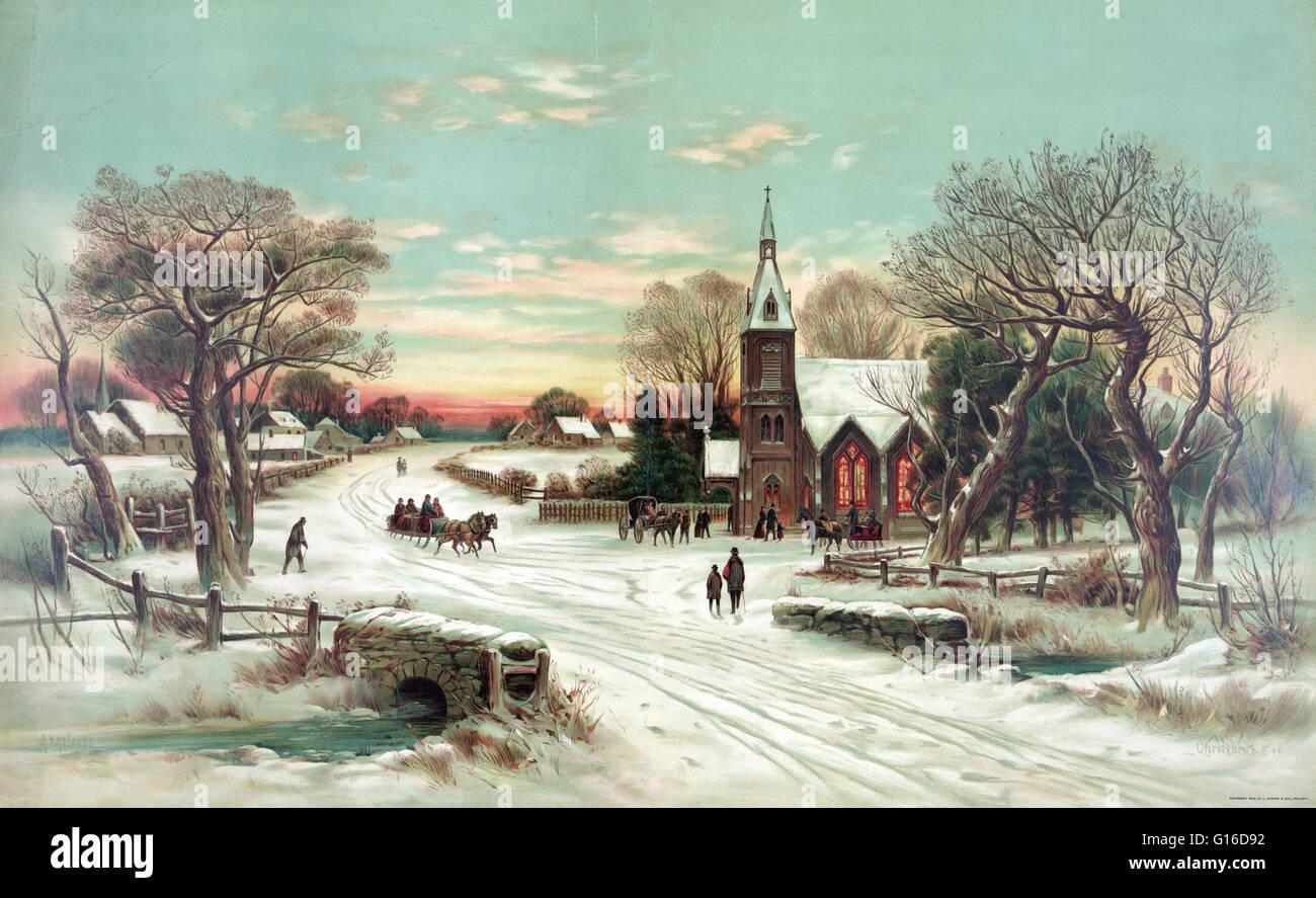 Weihnachten ist eine jährliche Erinnerung an die Geburt Jesu Christi ...