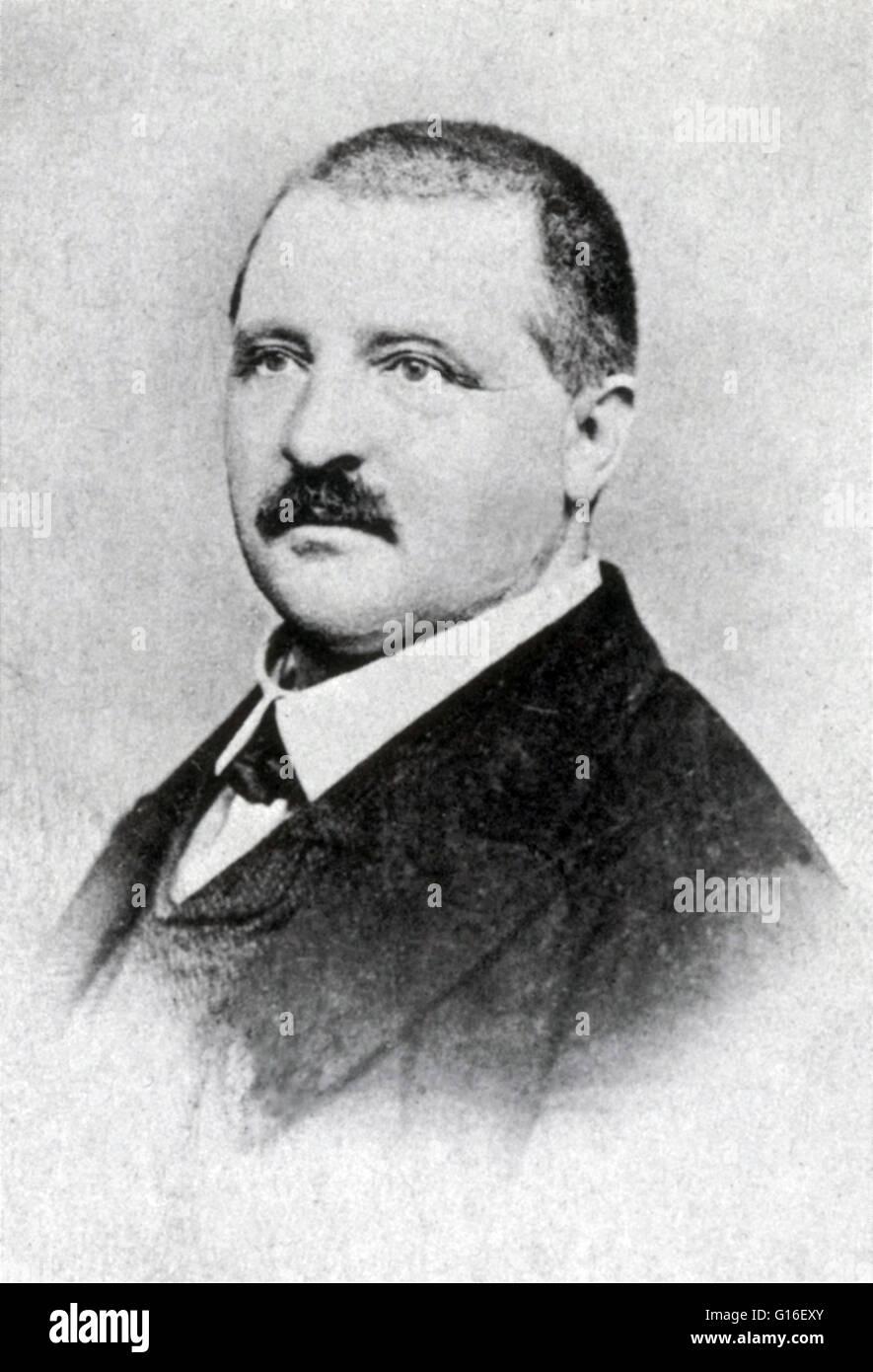 Anton Bruckner (4. September 1824 - 11. Oktober 1896) war ein österreichischer Komponist, bekannt für Stockbild