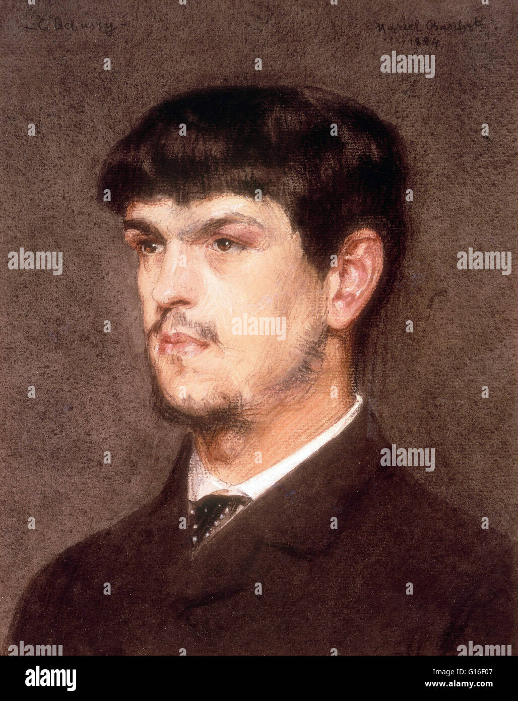 Achille-Claude Debussy (22. August 1862 - 25. März 1918) war ein französischer Komponist. Er war einer Stockbild