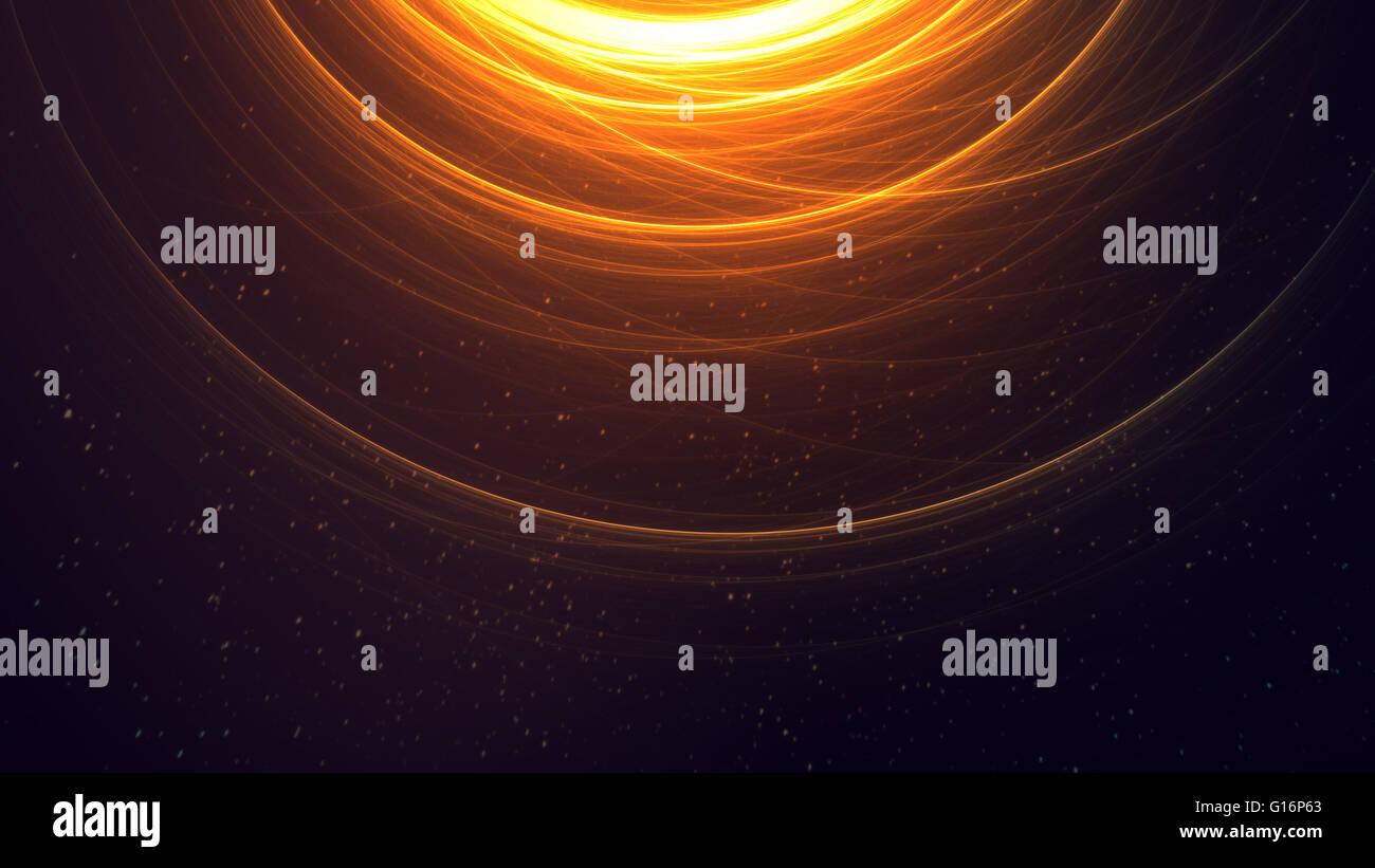 Elegante Sci-Fi-Energie Stockbild