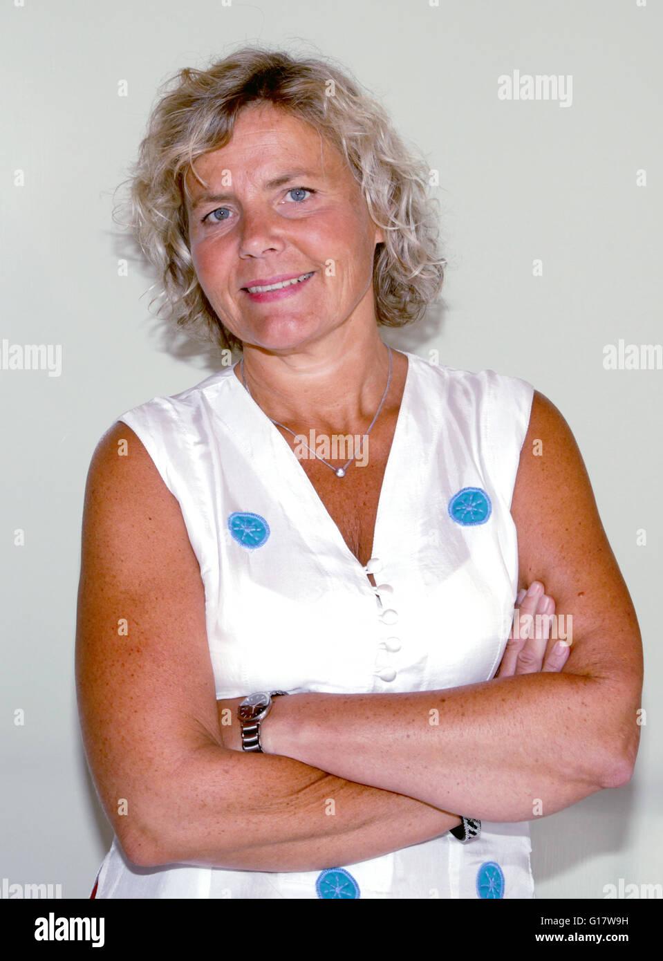 ANNA SERNER CEO des schwedischen Films Institut Stockbild