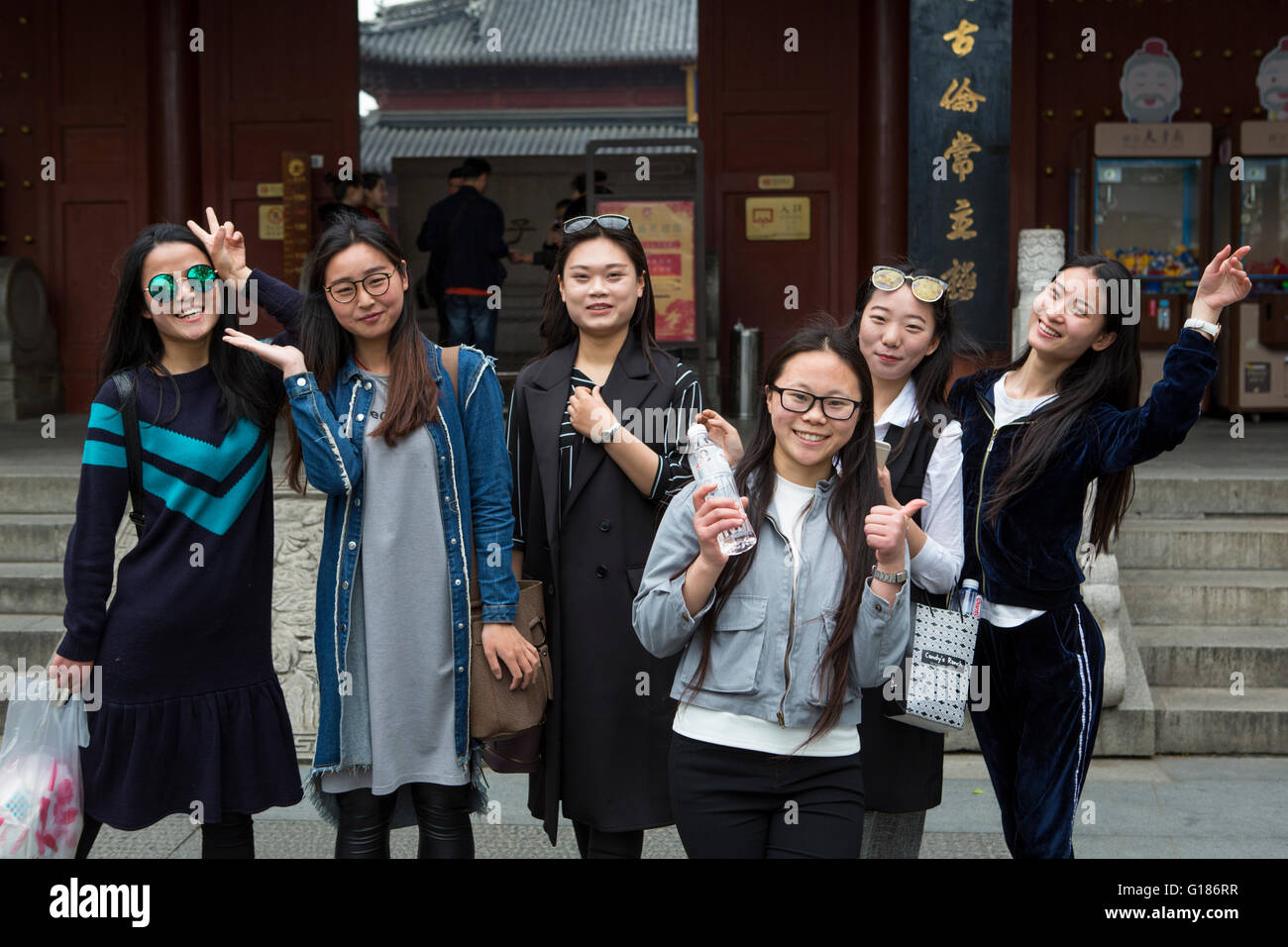 Aus einem chinesischen mädchen in china