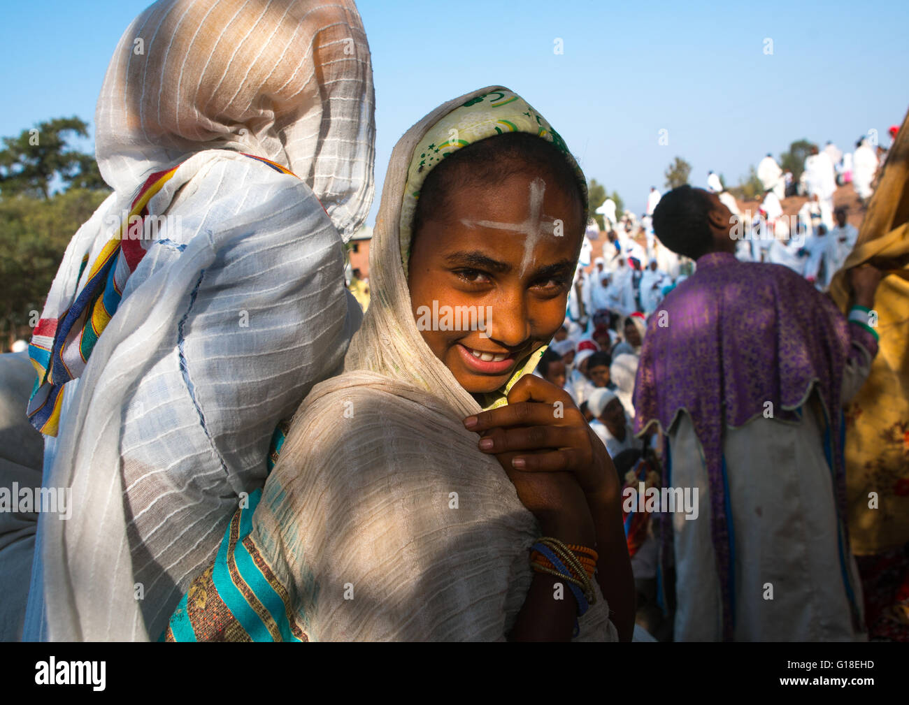 Amhara Mädchen