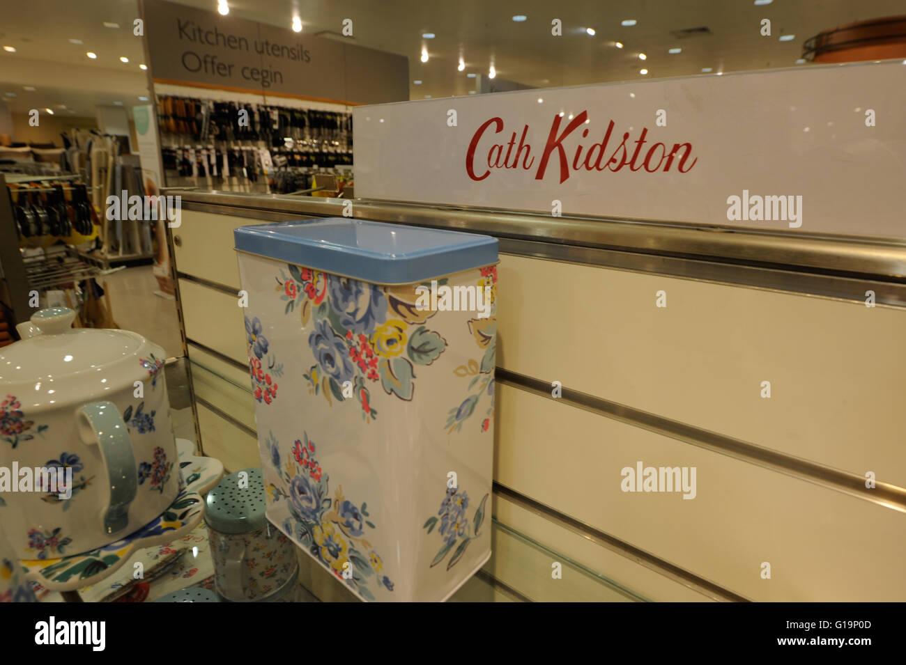 Cath Kidston, Heimtextilien, Einzelhandel, UK Stockbild