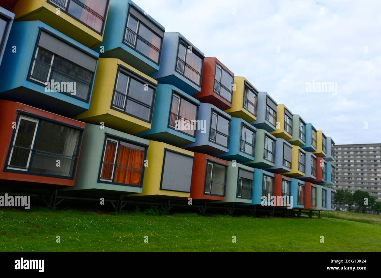 Container Zum Wohnen niederlande utrecht studentisches wohnen container