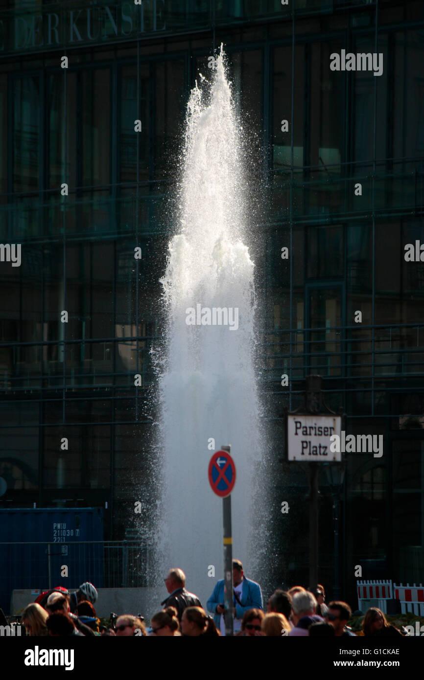 Brunnen, Berlin. Stockbild
