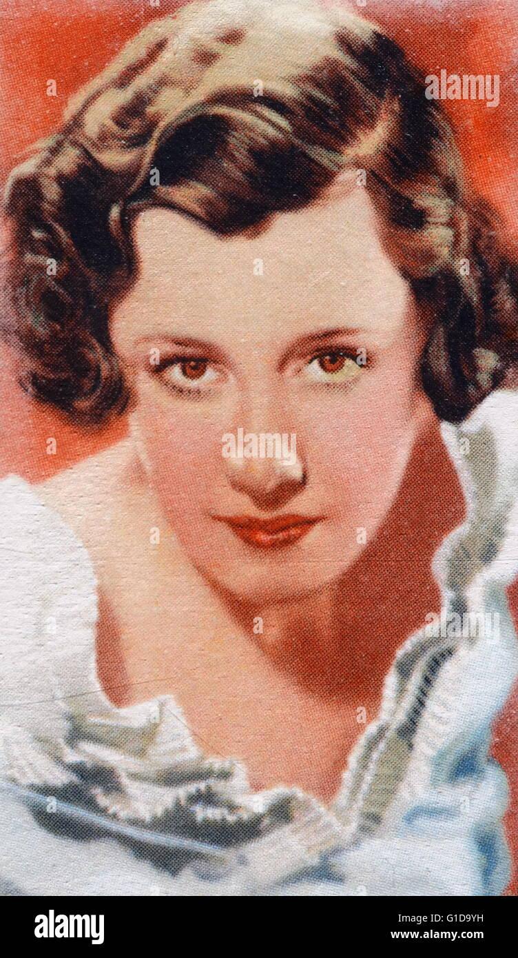 Irene Dunne (1898 ? 1990) US-amerikanische Schauspielerin und Sängerin, 1930er, 1940er-Jahre und Anfang der Stockbild