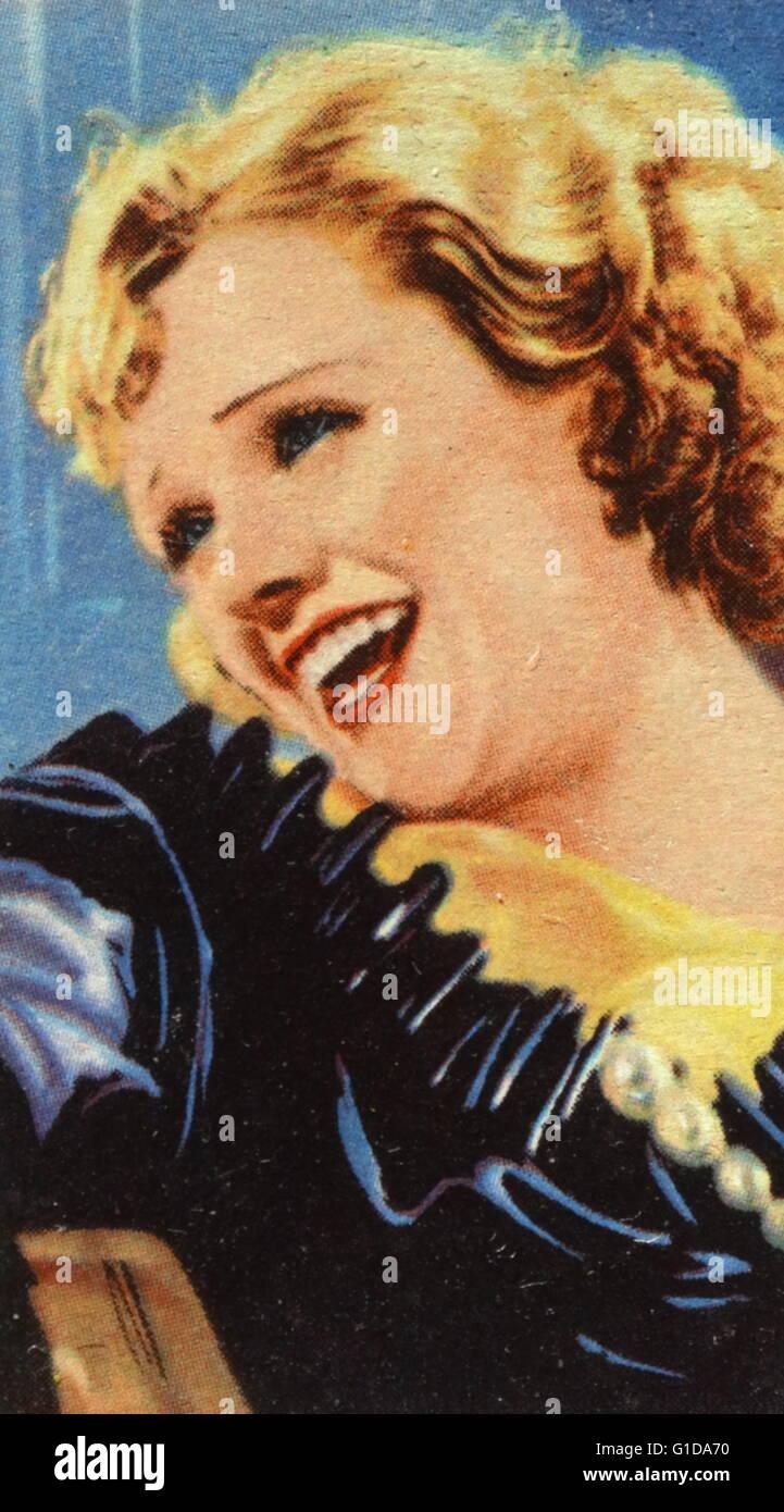 PERT Kelton (1907 ? 1968) amerikanische Vaudeville, Film, Funk und Fernsehen Schauspielerin. Ihre Karriere war in Stockbild