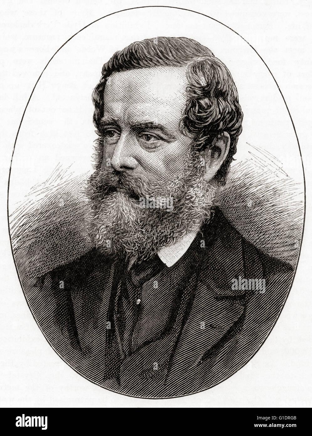 Henry Pelham Fiennes Pelham-Clinton, 5. Duke of Newcastle-unter-Lyne, gestylt 1811 ? 1864, Earl of Lincoln vor 1851. Stockbild