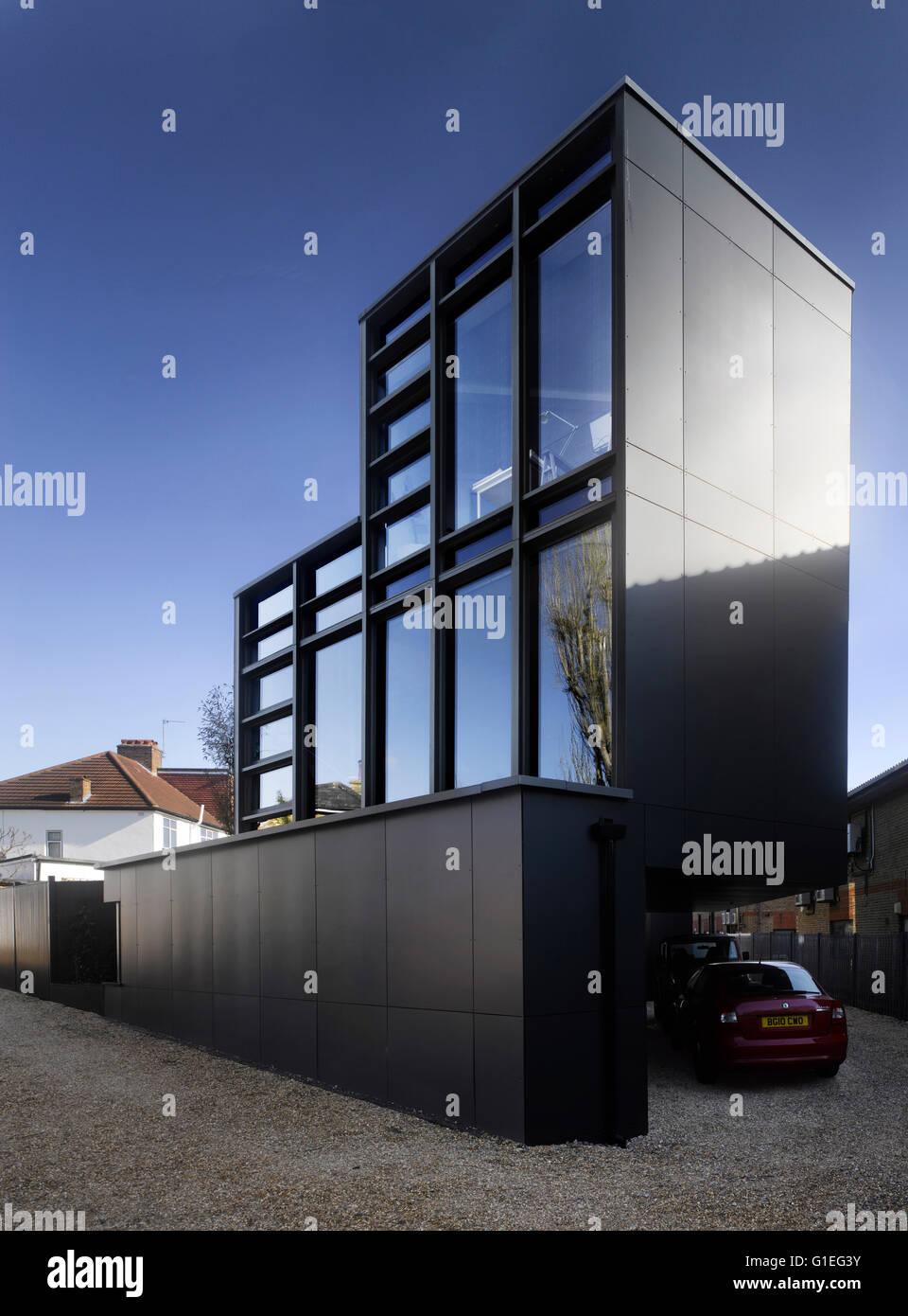Fassade Des Zeitgenössischen Hauses - linearsystem.co - Home Design ...
