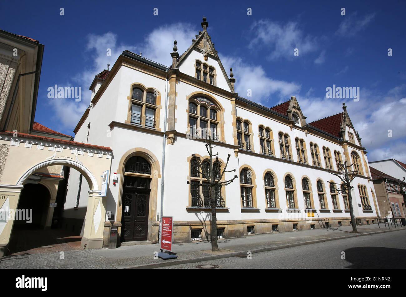 Das Kulturviertel Neustrelitz Mecklenburg Vorpommern Deutschland