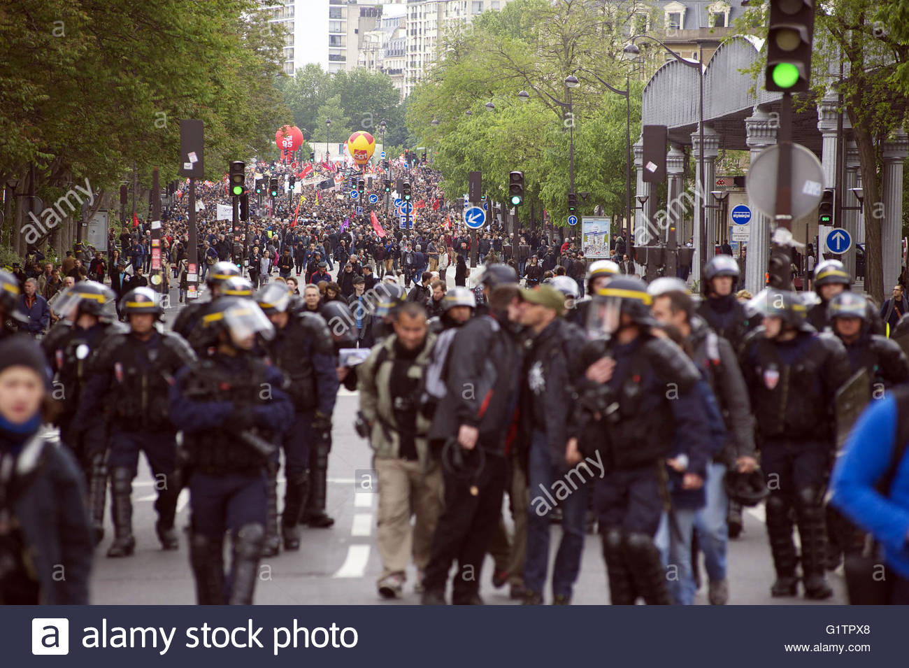 May 68 Paris Stockfotos & May 68 Paris Bilder - Alamy