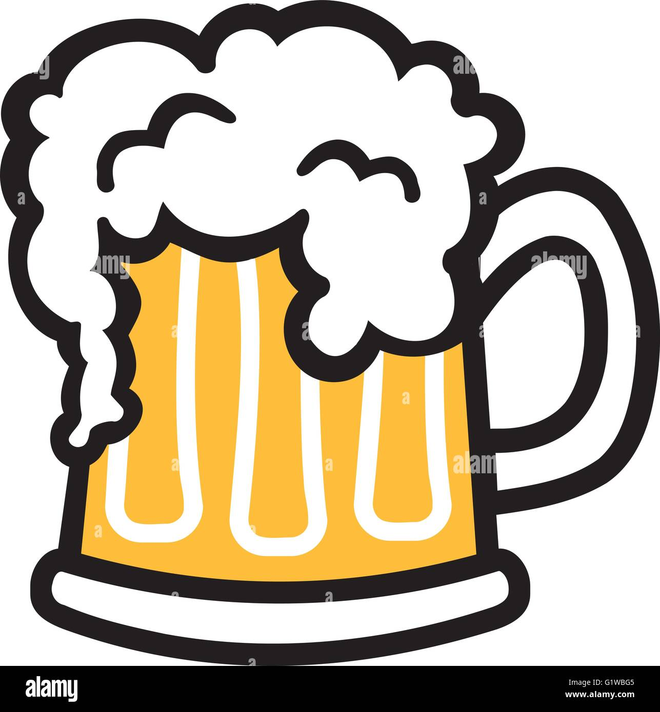 bier becher comic mit schaum vektor abbildung bild logo vectors free download logo vectors example