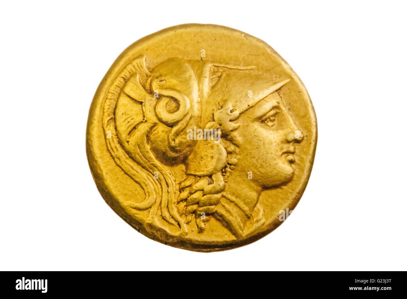 Antike Griechische Goldmünze Alexander Der Große 3 Jahrhundert V