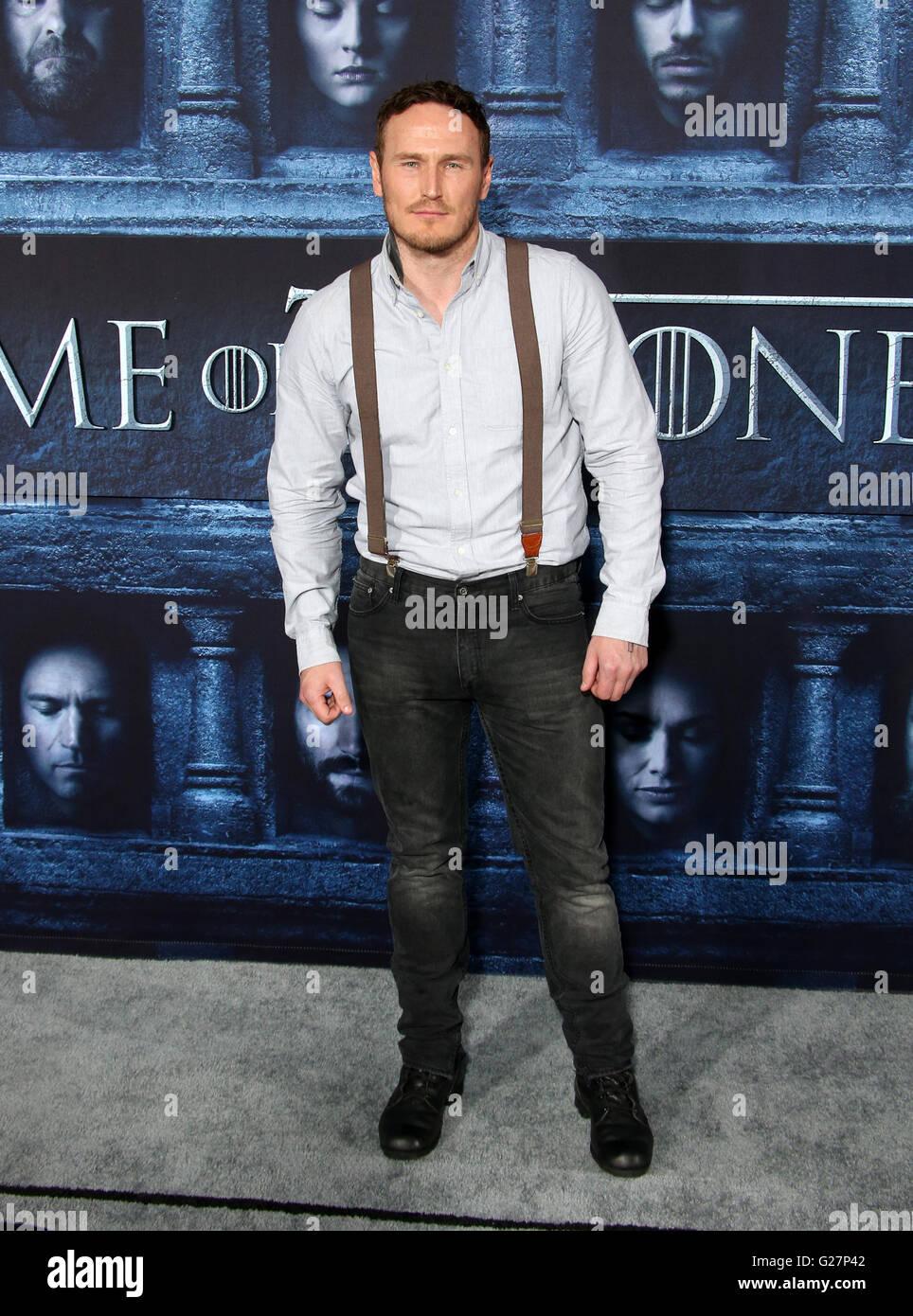 Los Angeles Premiere Für Staffel 6 Von Hbo Serie Game Of Thrones