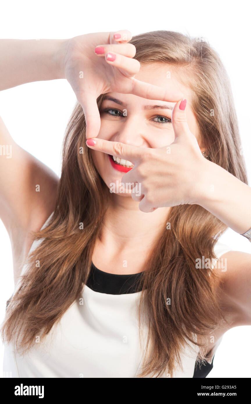 Fingers Frame Stockfotos & Fingers Frame Bilder - Alamy