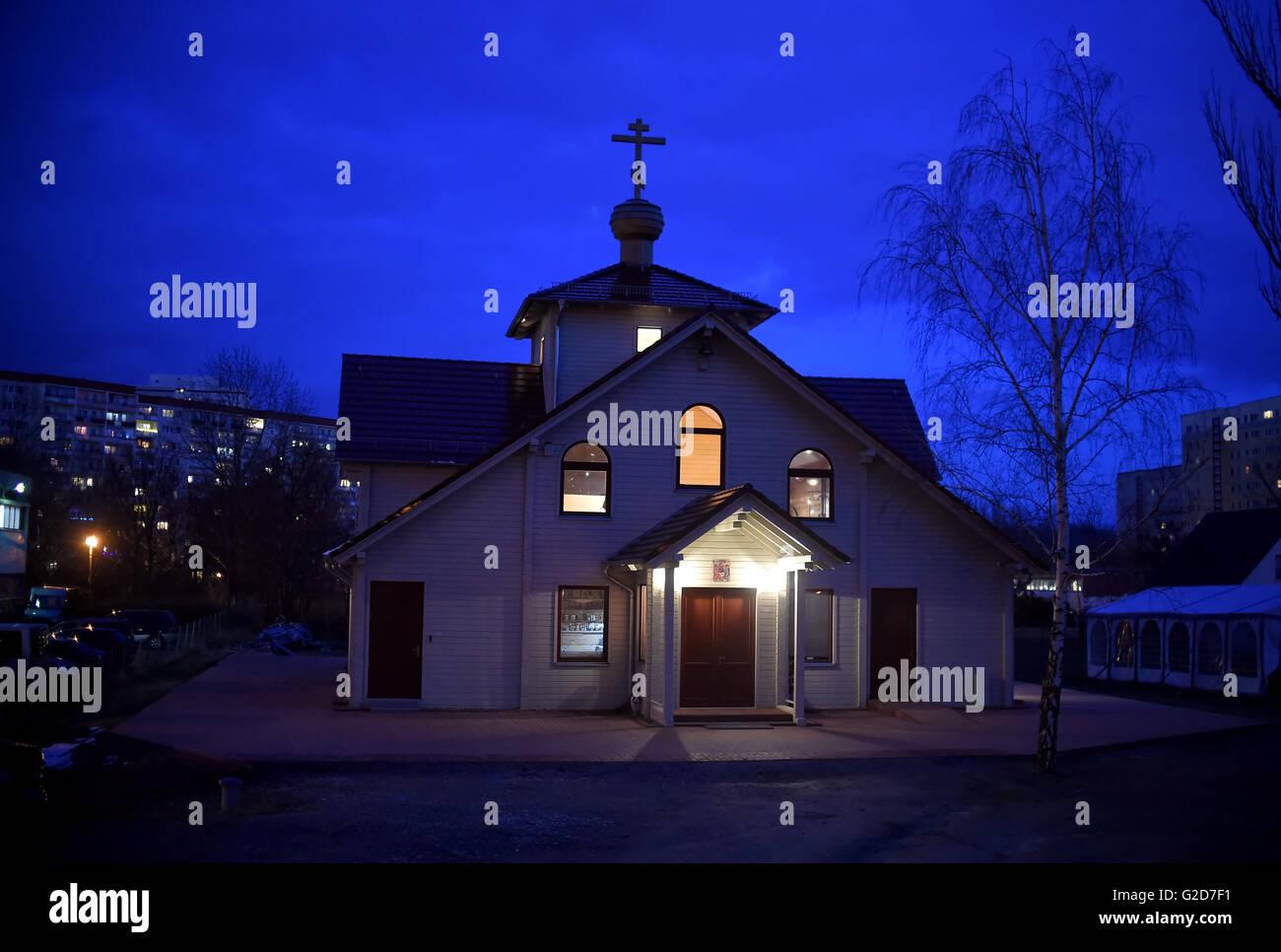 Die Russisch-orthodoxe Kirche in Berlin-Marzahn