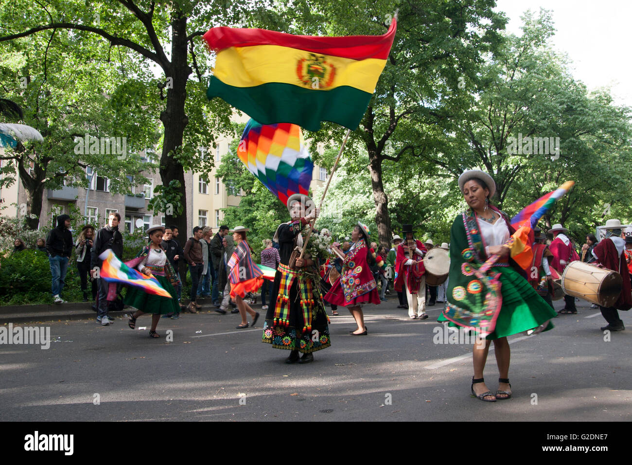 Karneval der Kulturen. Berlin, Deutschland. Stockbild