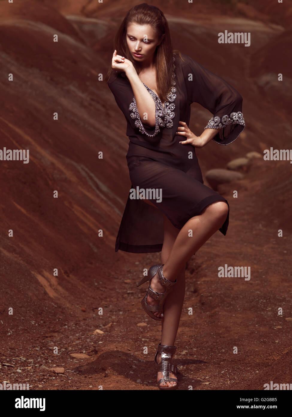 Sheer Dress Stockfotos & Sheer Dress Bilder - Alamy