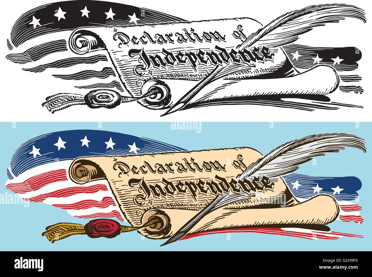 declaration of independence clipart.html
