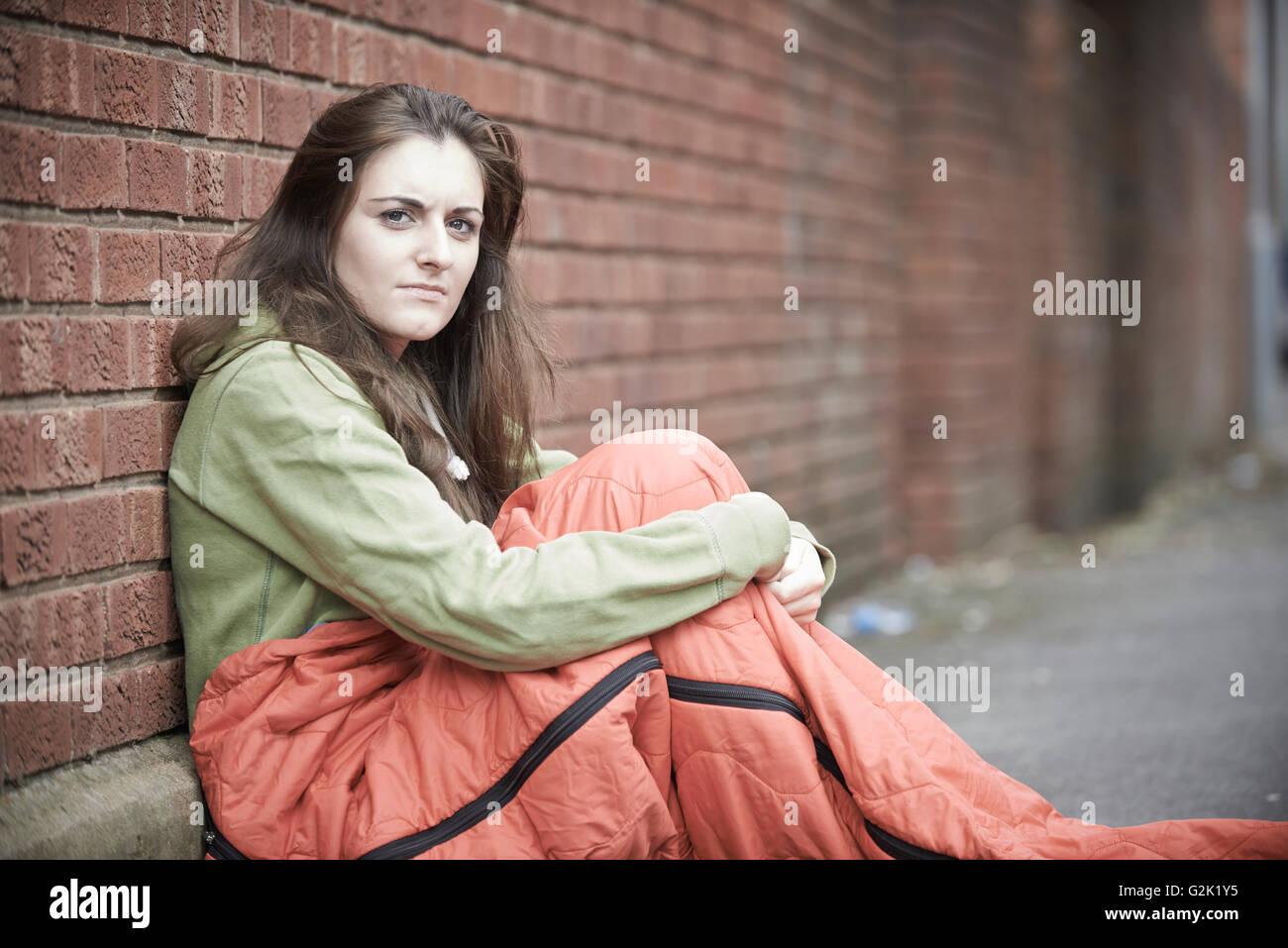 Ich bin aus einem obdachlosen mädchen