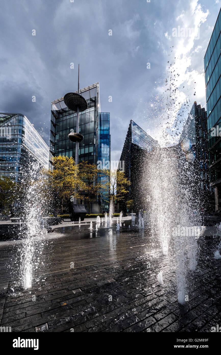 Modernes Gebäude in London moderne Architektur Stockbild