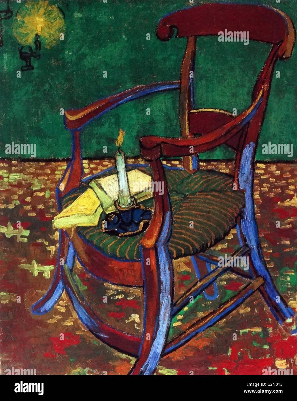 "Vincent Van Gogh ""Stuhl Gauguin Stockfoto Bild"