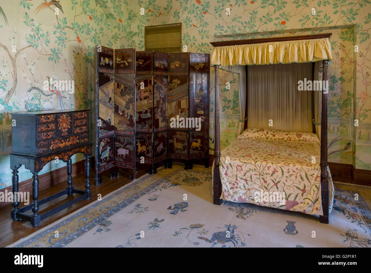 Chinese Wallpaper Stockfotos & Chinese Wallpaper Bilder - Alamy