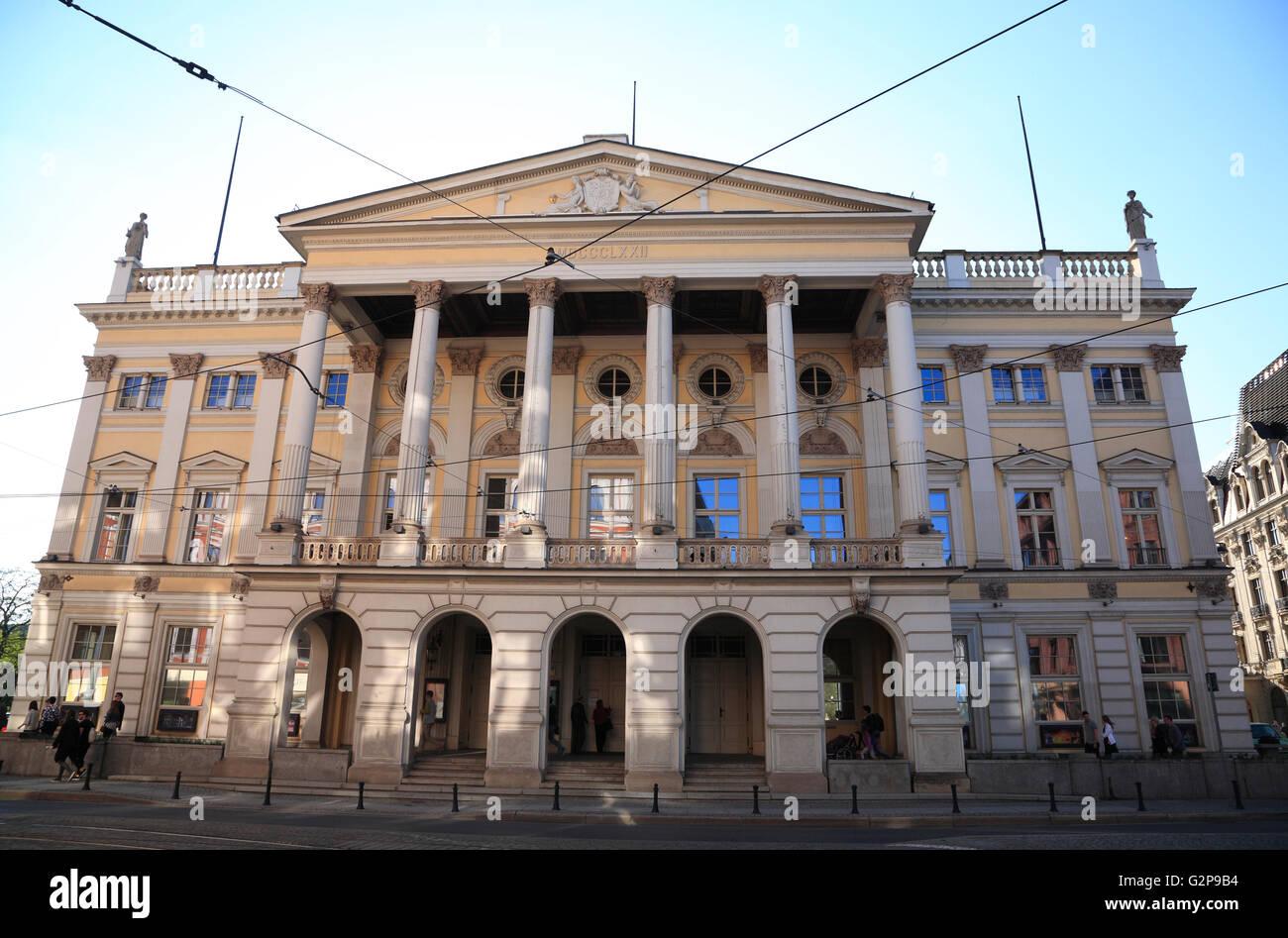 Oper, Breslau, Schlesien, Polen, Europa Stockbild