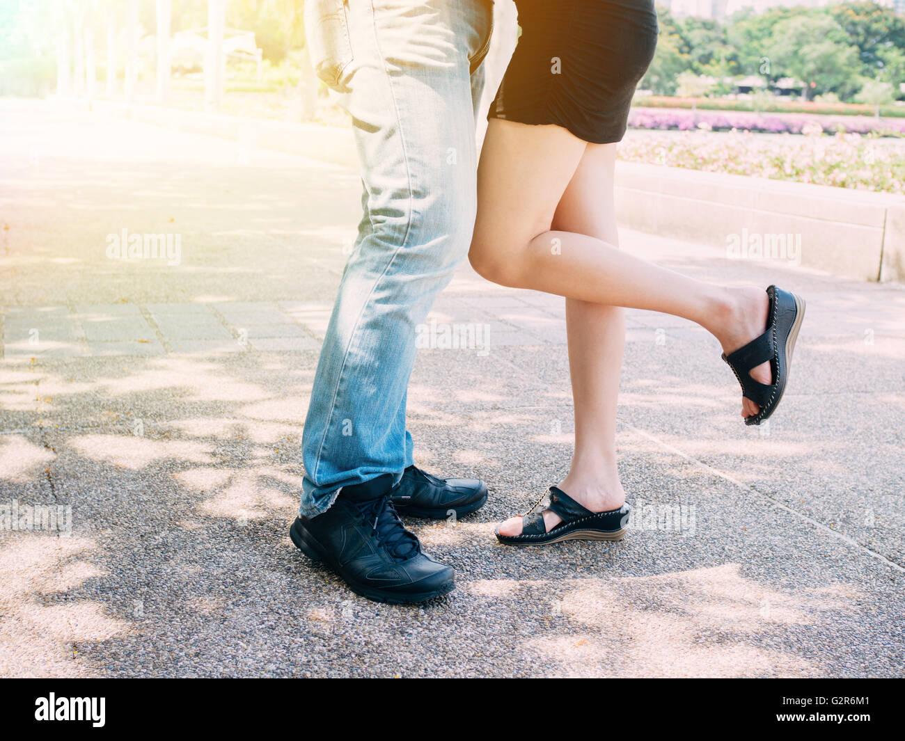 Beine Küssen
