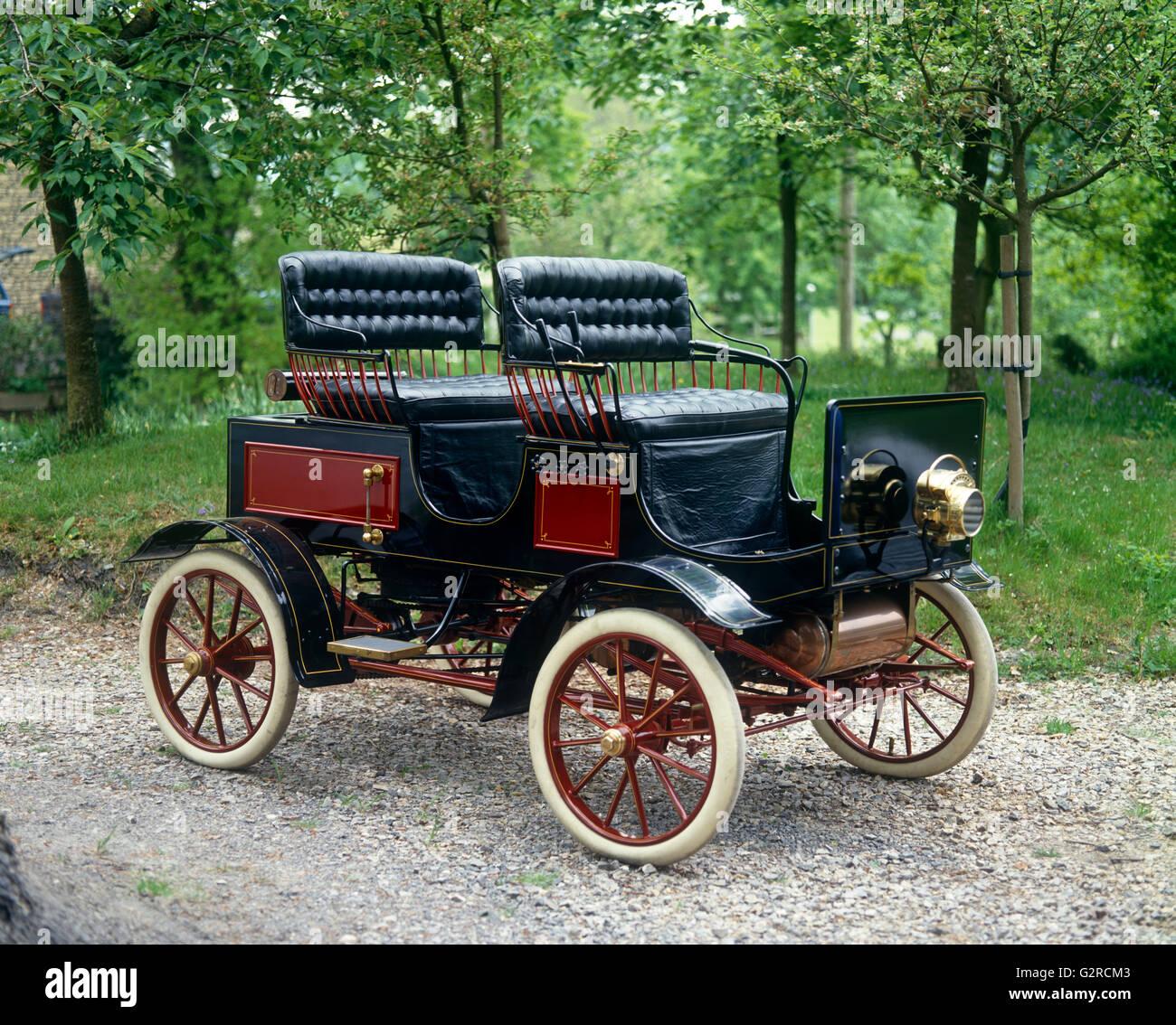 1897 Clothly Dampfer Flash 8HP im Besitz von Henry Ford Stockbild