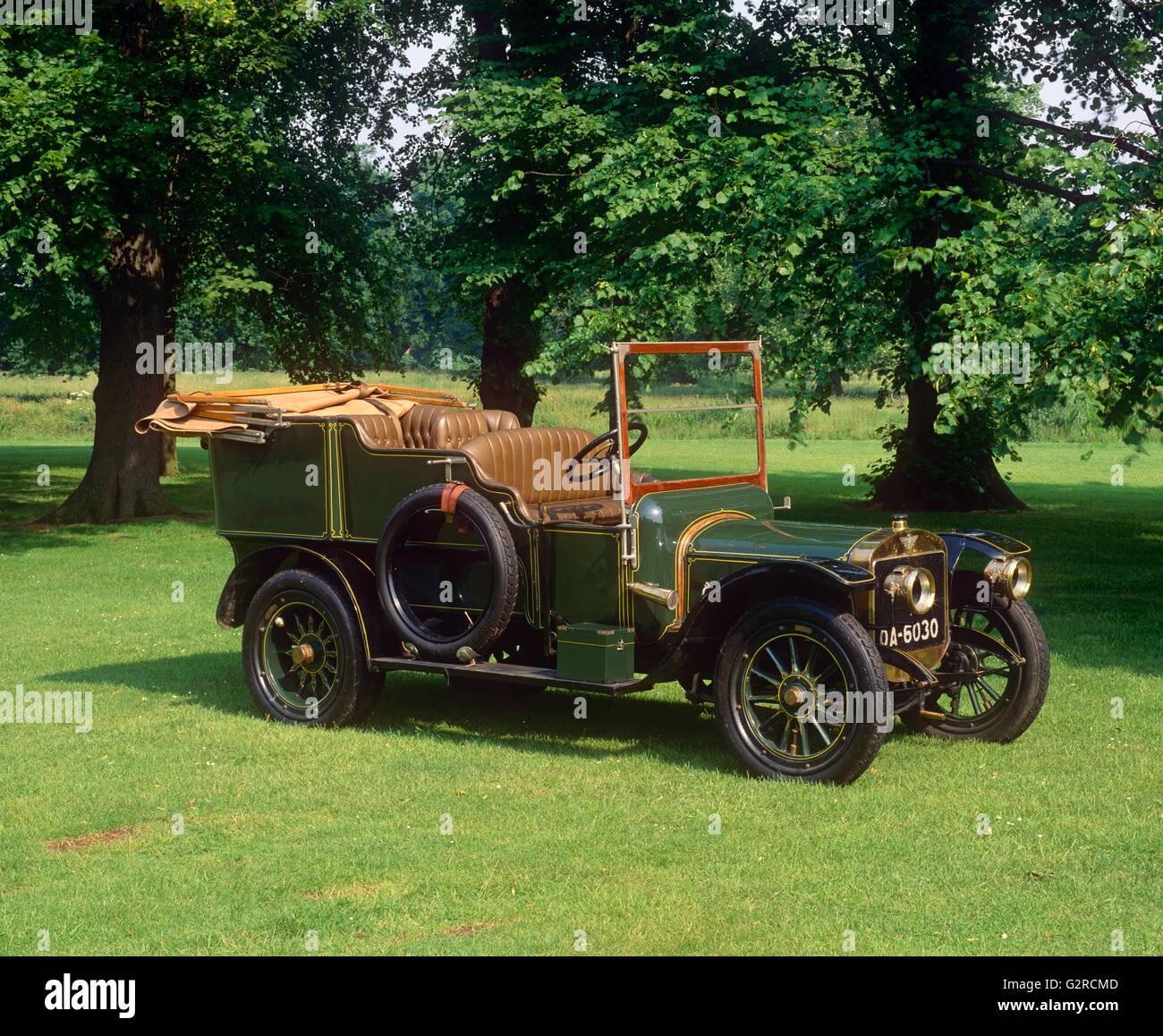 1907 Austin 30 hp Tourer Stockbild