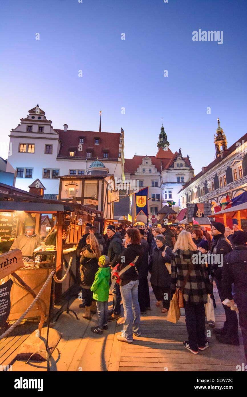Mittelalterlicher Weihnachtsmarkt.Mittelalterlicher Weihnachtsmarkt Im Stallhof Stallhof Des
